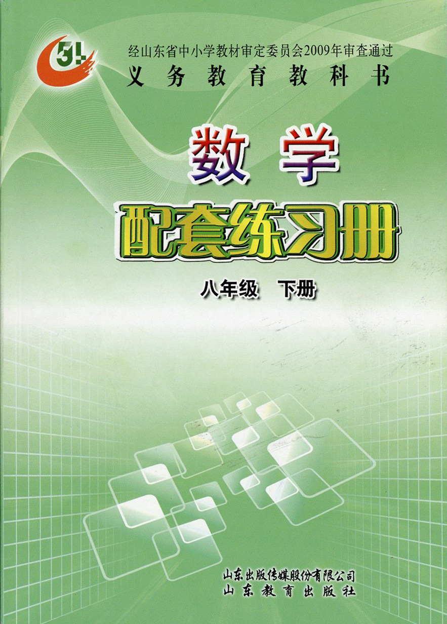 (五四)数学配套练习册(八年级下册)