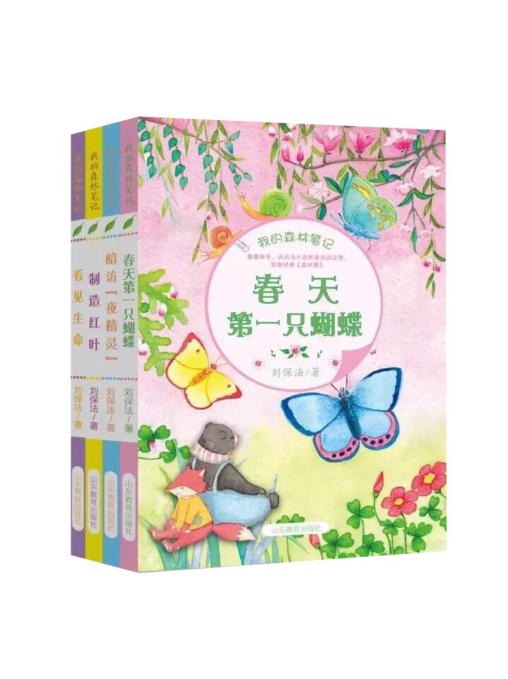 我的森林笔记 春夏秋冬四册