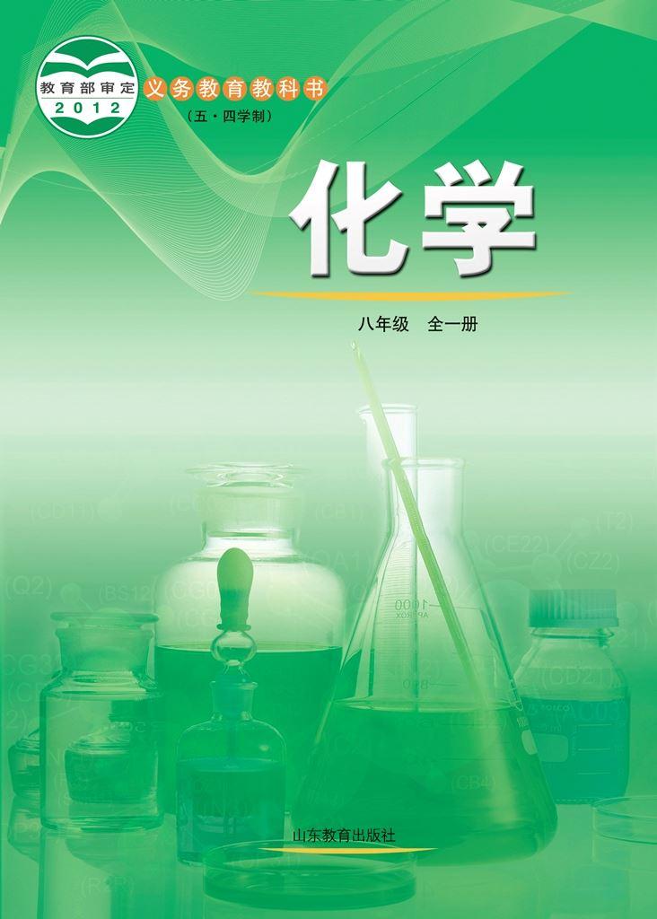 (五四)化学 八年级全一册